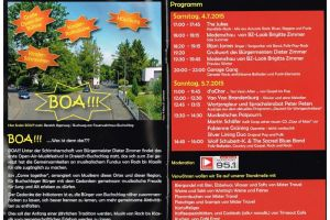 BOA: Erstes Open Air Festival Buchschlags