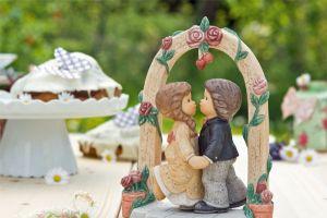 Ein zauberhaftes Hochzeitspaar