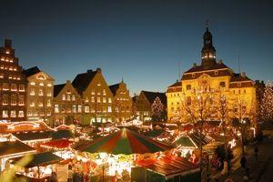 Hamburger City wird zum größten Weihnachtmarkt Deutschlands